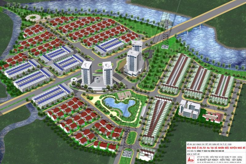 Liên doanh dự án tại xã Nhơn Đức, huyện Nhà Bè