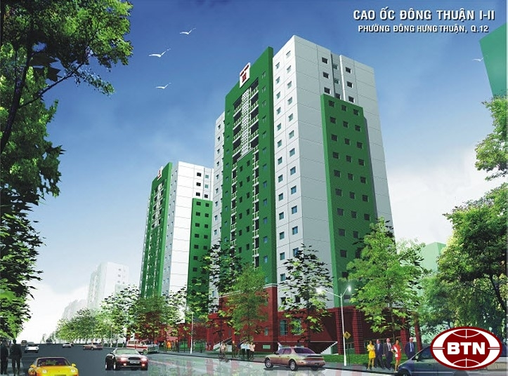 15-floor apartment building in Dong Thuan 1