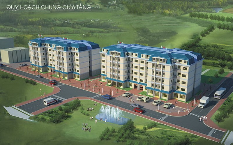 Apartment C3 – C4 An Suong residential area